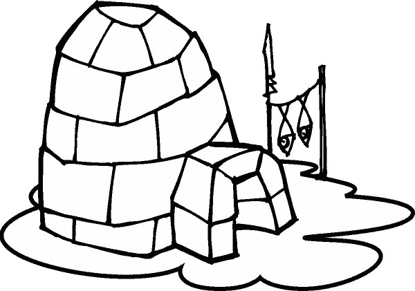 Igloo clipart clipart 3