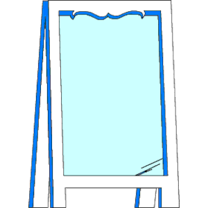 Mirror 1 clipart cliparts of free download wmf