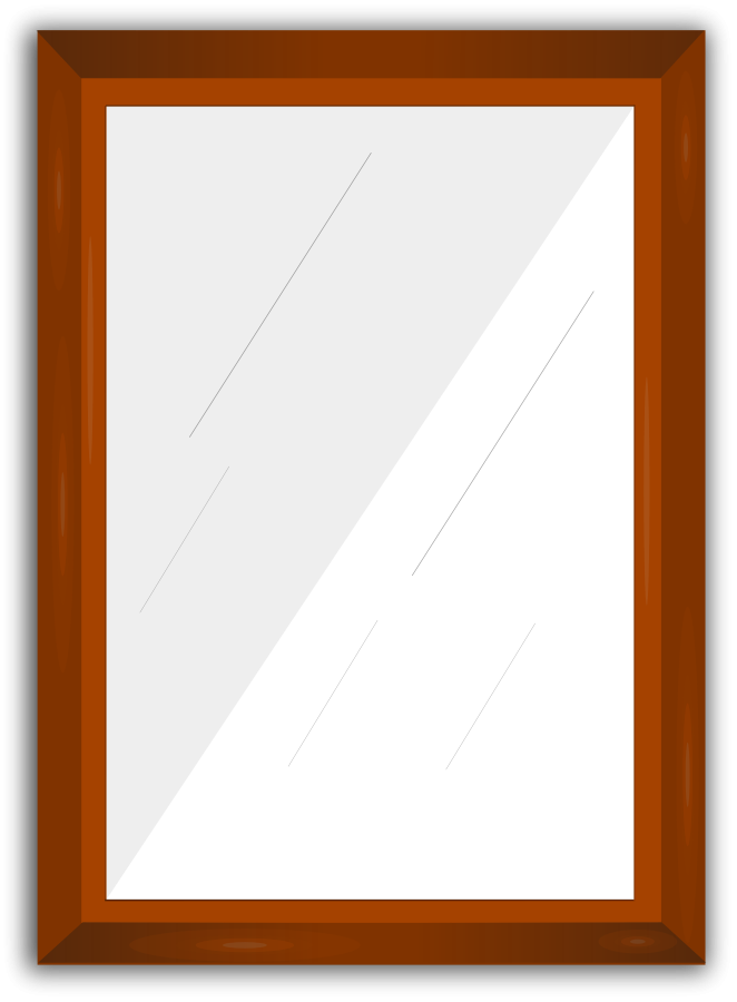 Mirror clip art free clipart images 2
