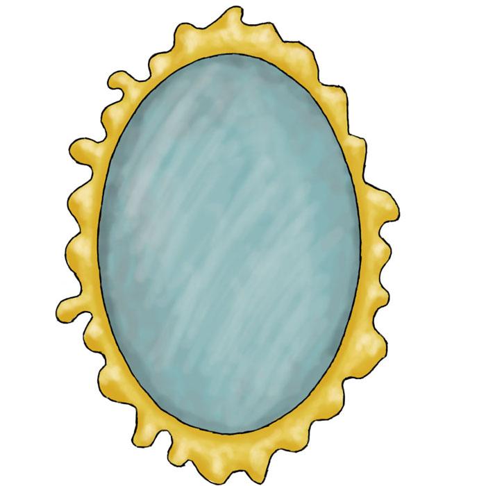 Mirror clipart 2