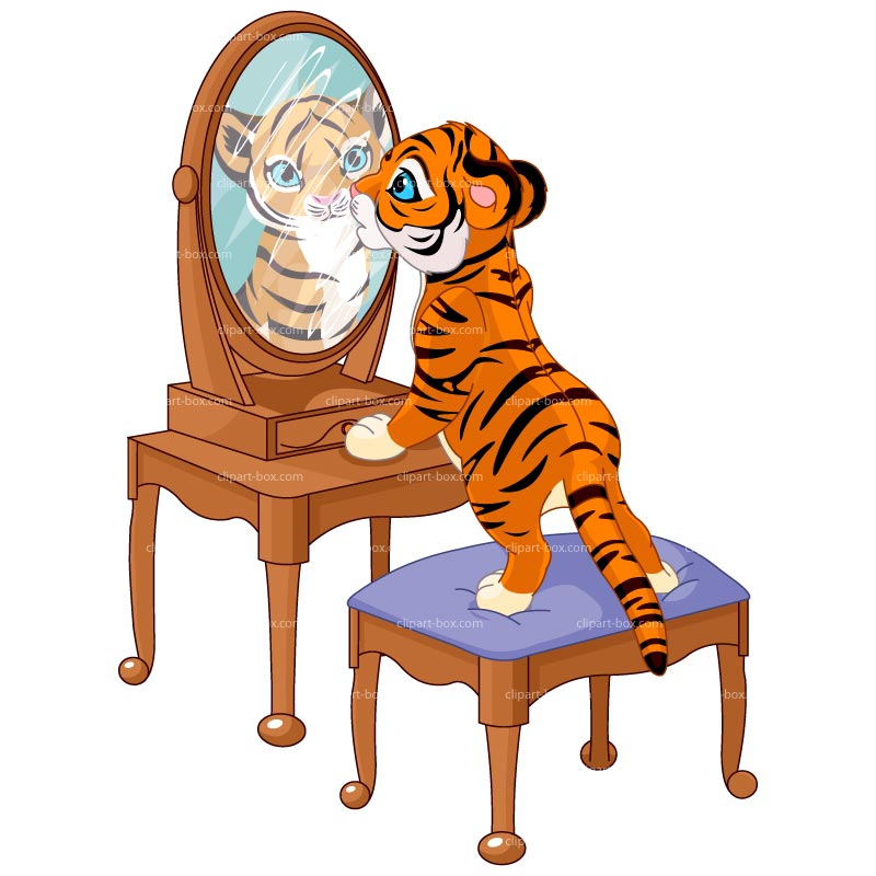 Mirror image clipart 3