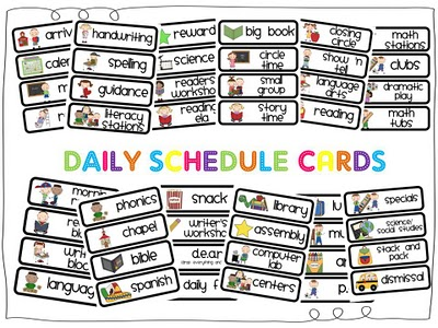 Printable schedule template clipart clipground