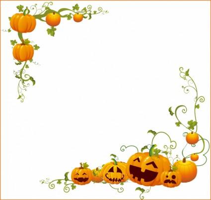 Pumpkin border 4