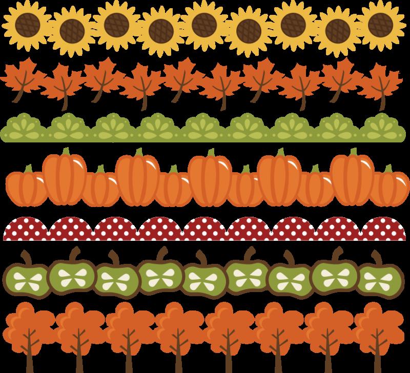 Pumpkin border 7 2