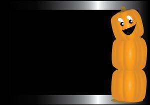 Pumpkin border 8 2