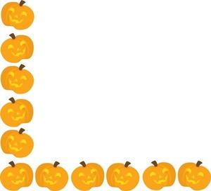 Pumpkin border 8