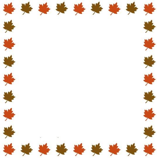 Pumpkin border clipart free images 6