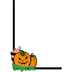 Pumpkin border clipart free images 7