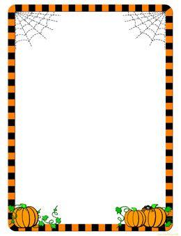 Pumpkin border halloween border pumpkin clip art free 2 2