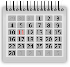 Schedule clip art download 2