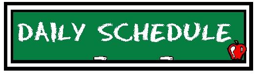 Schedule clip art free clipart images 6