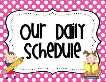 Schedule clipart 2