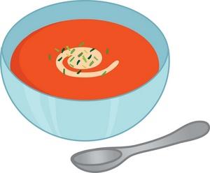 Soup clip art 2