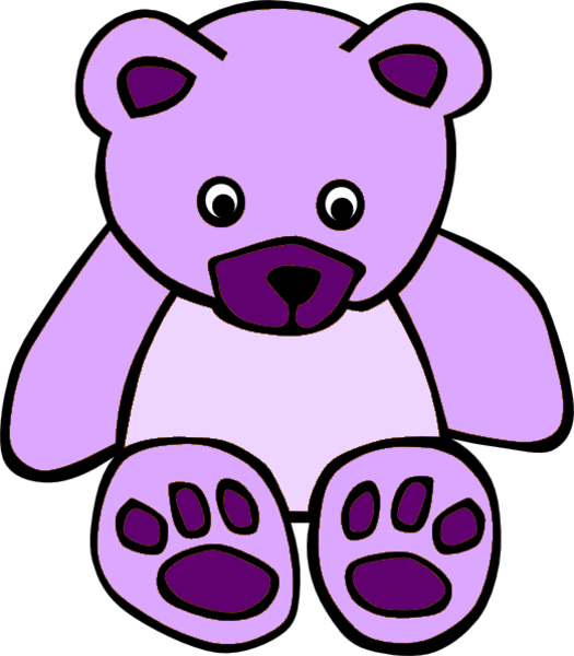 Teddy bear outline clipart free images 13