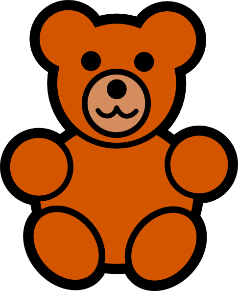 Teddy bear outline free teddy bear clip art pictures 3