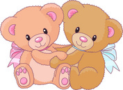 Teddy bear outline free vector download 4 free for clip art
