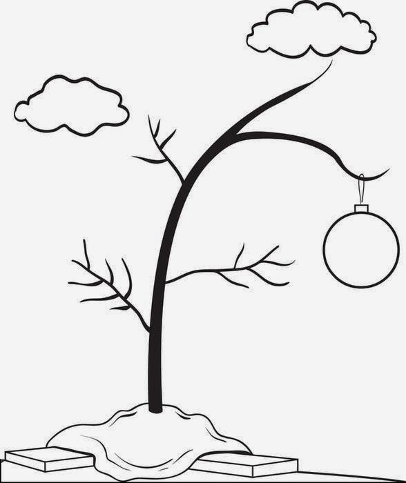 The holiday site charlie brown christmas clip art and coloring pages 14