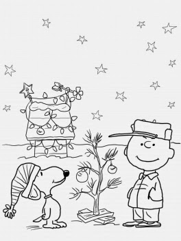 The holiday site charlie brown christmas clip art and coloring pages 15