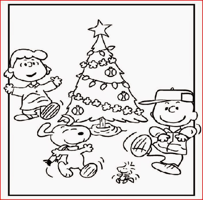 The holiday site charlie brown christmas clip art and coloring pages 16