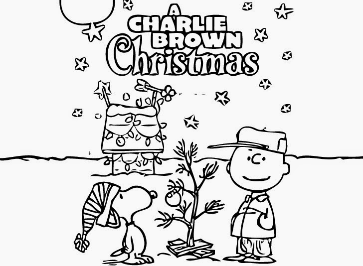 The holiday site charlie brown christmas clip art and coloring pages 7