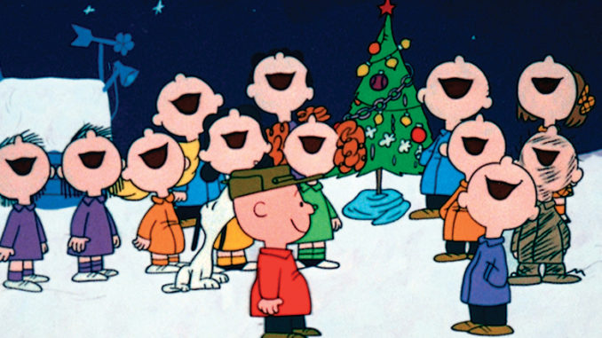 When is a charlie brown christmas on tv 6 clipart