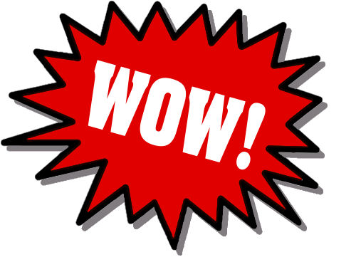 Wow clipart free images 2