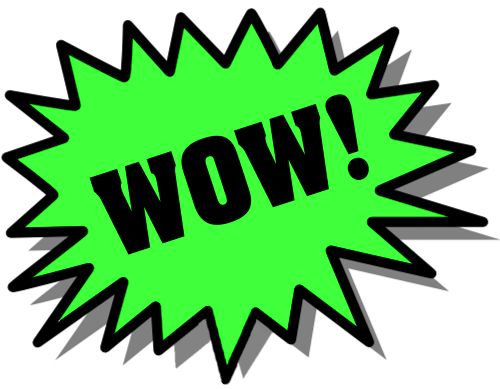 Wow clipart free images 3