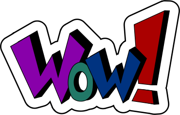 Wow clipart free images 4