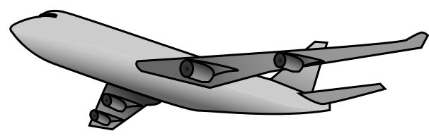 Air plane clipart 4 airplane images clip art 2 4