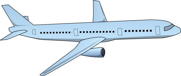 Airplane clipart flight 4