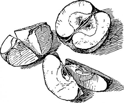 Apple  black and white apple black and white apple clipart etc clipart
