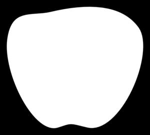 Apple  black and white apple black and white clip art at vector clip art