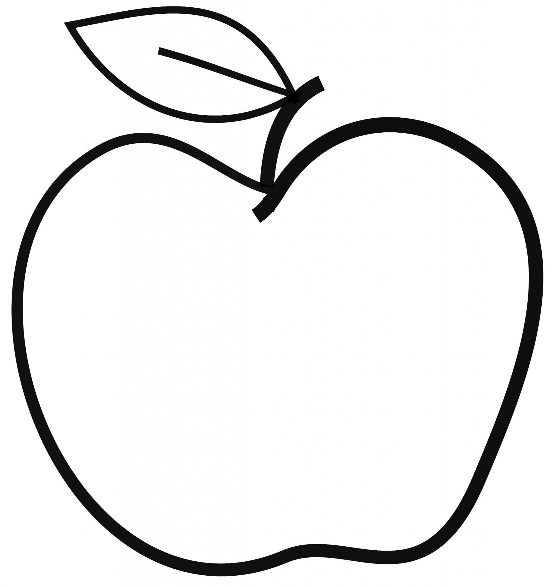 Apple  black and white apple clip art black and white 2