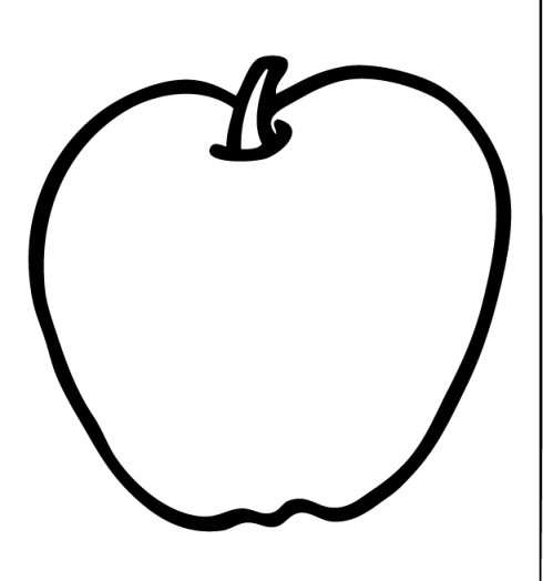 Apple  black and white apple clipart black and white free clip art images