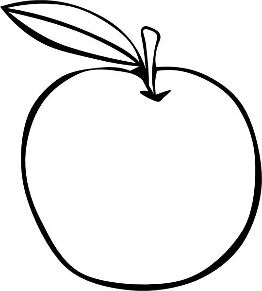 Apple  black and white apple fruit images clip art
