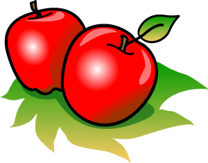 Apple  black and white black and white apple clip art 3 2