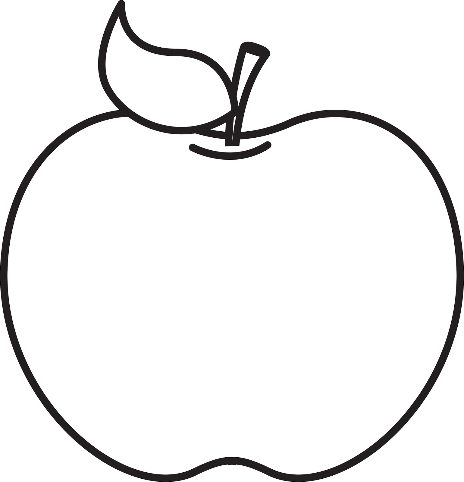 Apple  black and white black and white apple clip art 3