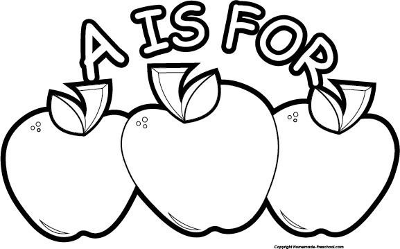 Apple  black and white free apple clipart 2