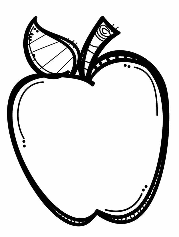 Apple  black and white manzana im genes clip art