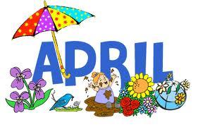 April clip art clipart 2 image