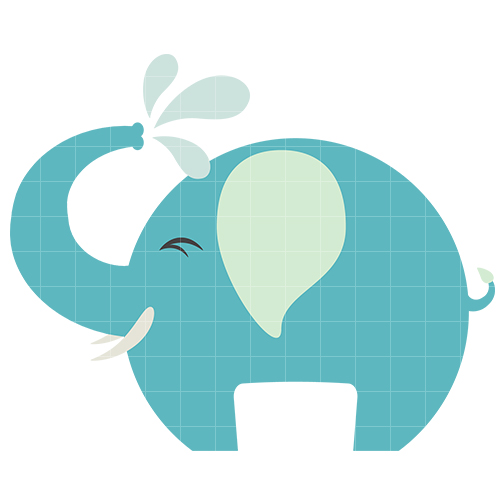 Baby elephant clipart 9