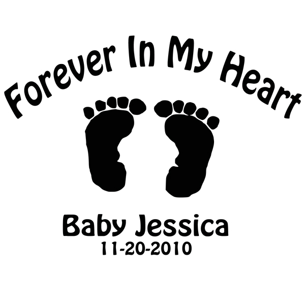 Baby feet clip art 2
