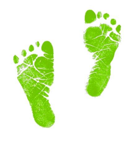 Baby feet clip art 5