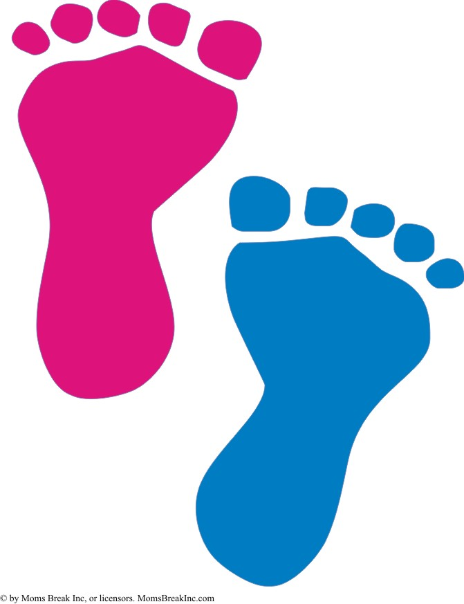 Baby feet clip art 6 3