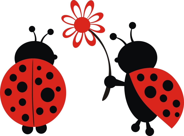 Baby ladybug clipart