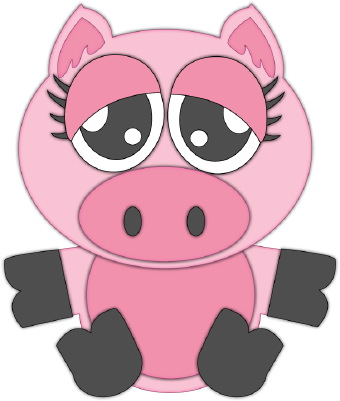 Baby pig clipart free images 2