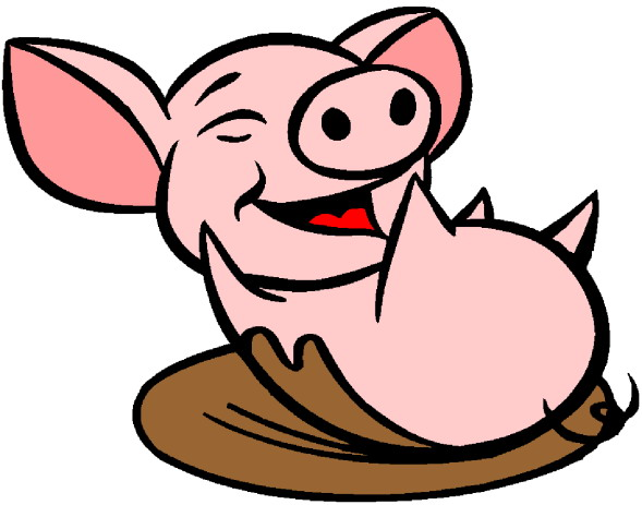 Baby pig clipart free images 3