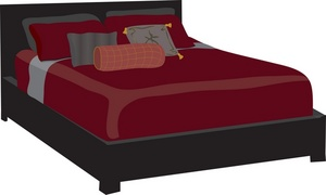 Bed cartoon clip art dromgbg top 3