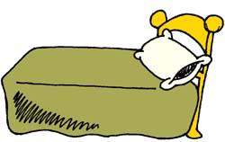 Bed clip art 2