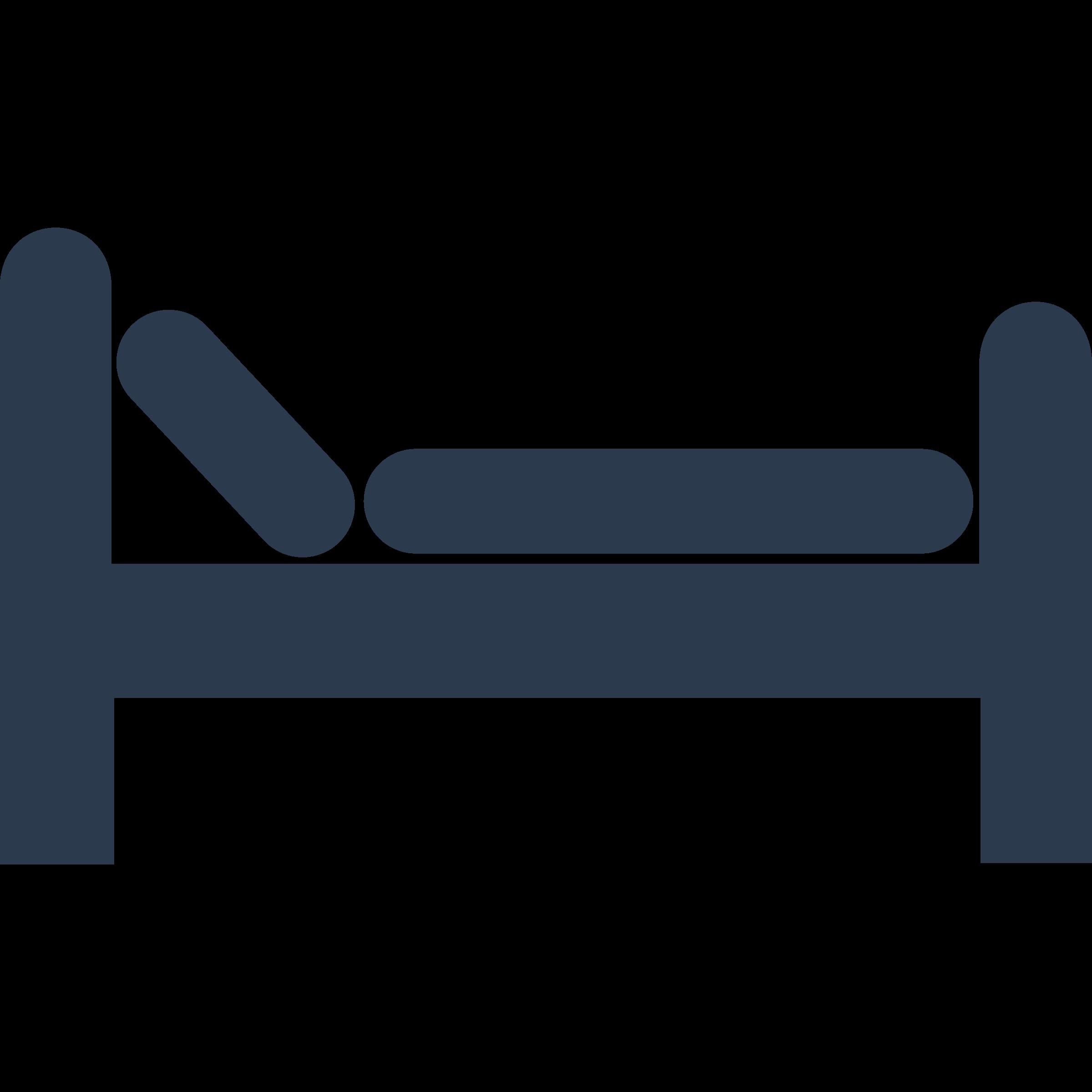 Bed clip art at vector free image